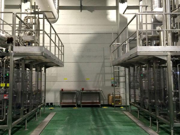 Constructie bordessen. RVS, Staal & Aluminium Metaalwerken en staalconstructies West Vlaanderen