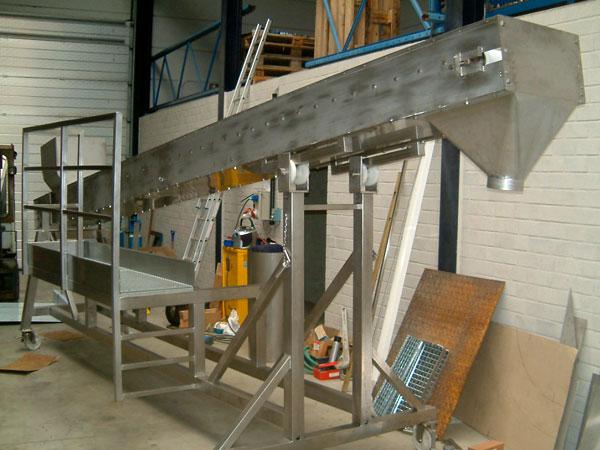 Industriele constructies. Metaalwerken en staalconstructies. RVS, Staal & Aluminium West Vlaanderen