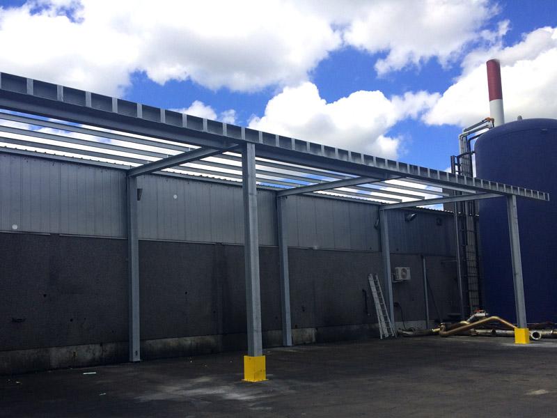 Luifel Uitbouw Staalconstructies West Vlaanderen 1