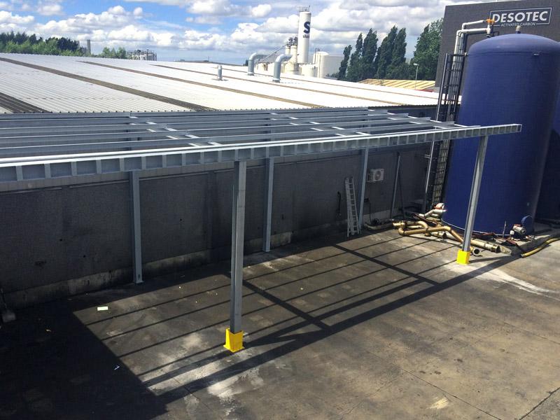 Luifel Uitbouw Staalconstructies West Vlaanderen 2