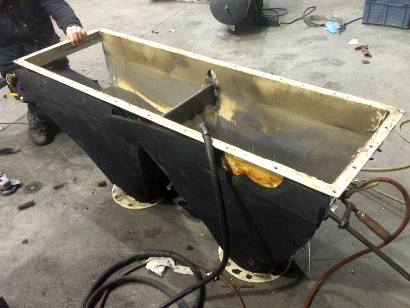 mechanisch onderhoud West Vlaanderen - machines onderdelen staalconstructies 02