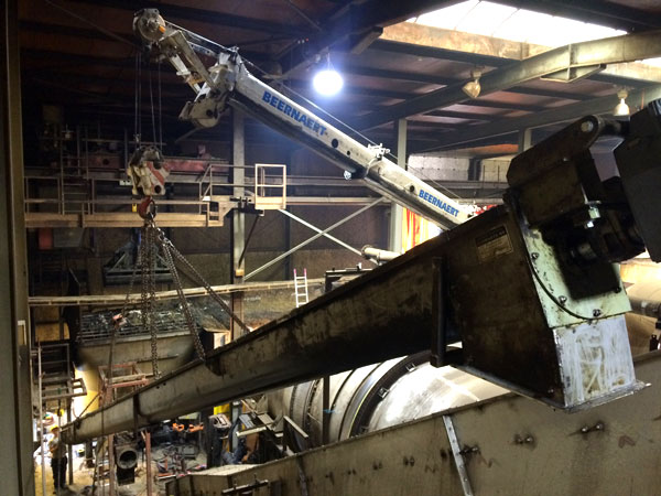 Montage demontage Revisie Vijzel van 15 Meter West Vlaanderen