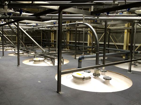Pipe rack / buizenrek / pijpenrek West Vlaanderen - Inox Constructie in Toren