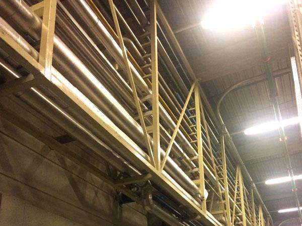 Piperack. Metaalwerken en staalconstructies. RVS, Staal & Aluminium West Vlaanderen