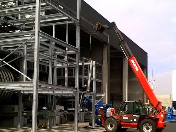 Staalconstructie West Vlaanderen - 3 Zeef Torens