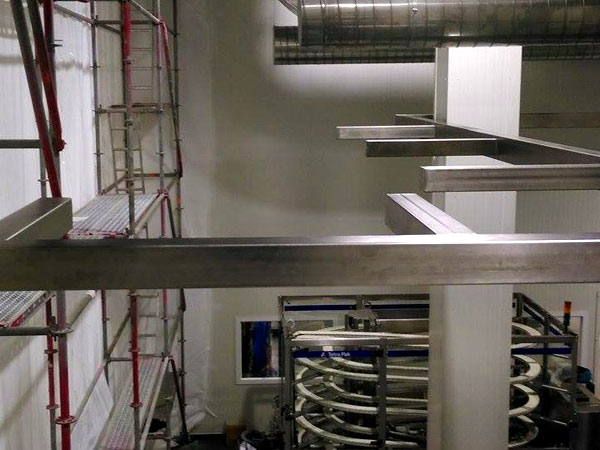 Staalconstructie West Vlaanderen - Inox Constructie Leidingtraject