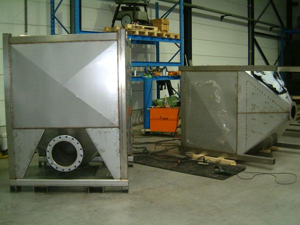Staalconstructie West Vlaanderen - Inox Containers/filters