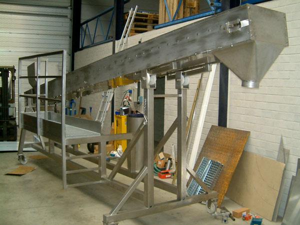 Staalconstructie West Vlaanderen - Intern Transport