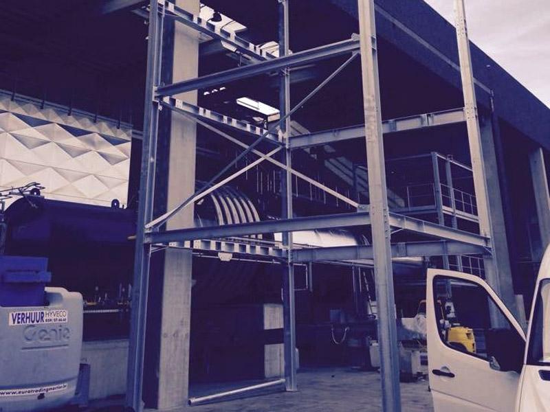 Staalconstructies zeeftorens West Vlaanderen 2