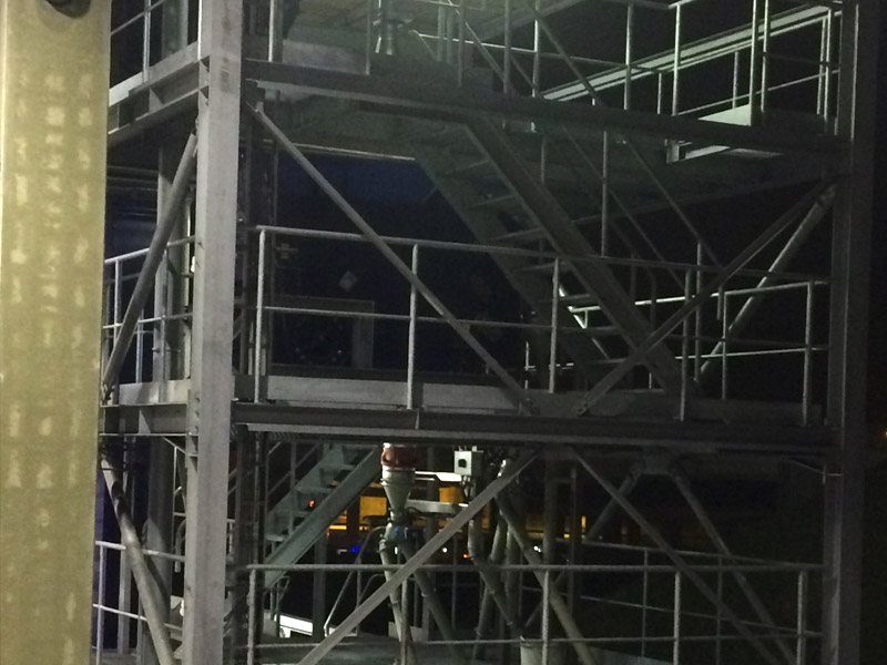 Staalconstructies zeeftorens West Vlaanderen 3